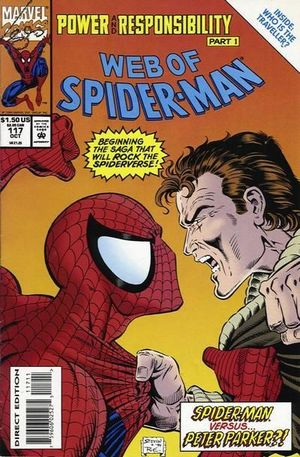 WEB OF SPIDER-MAN (1985 1ST SERIES) #117
