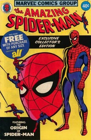 AMAZING SPIDER-MAN ALL DETERGENT GIVEAWAY (1979) #1