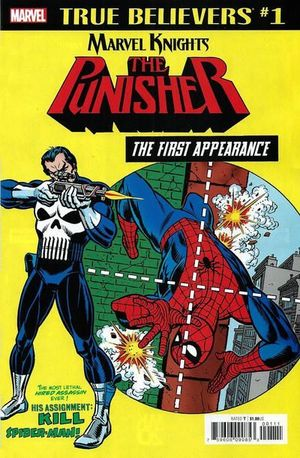 TRUE BELIEVERS PUNISHER FIRST APPEARANCE (2018) #1