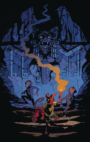YOUNG HELLBOY THE HIDDEN LAND (2021) #3