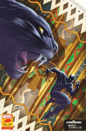 BLACK PANTHER (2018 7TH SERIES) #25 COELL