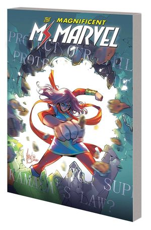 MS MARVEL BY SALADIN AHMED TPB (2019) #3