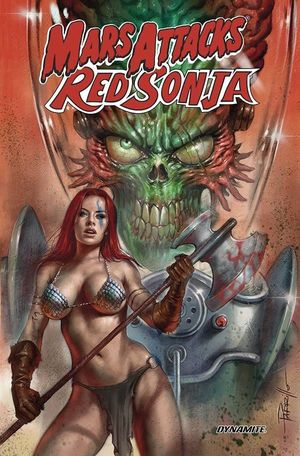 MARS ATTACKS RED SONJA TP