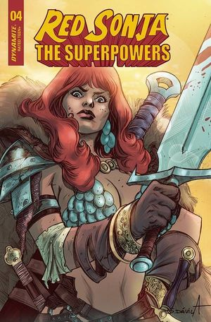RED SONJA THE SUPERPOWERS (2021) #4G