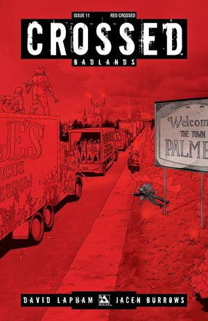 CROSSED BADLANDS RED CROSSED VAR 11