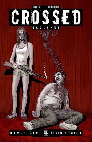 CROSSED BADLANDS RED CROSSED VAR 14