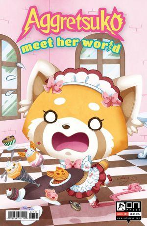 AGGRETSUKO MEET HER WORLD CVR B STARLING 1
