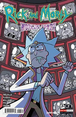 RICK AND MORTY WORLDS APART (2021) #3B