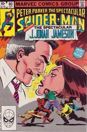 SPECTACULAR SPIDER-MAN (1976 1ST SERIES) #80