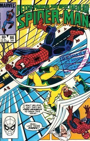 SPECTACULAR SPIDER-MAN (1976 1ST SERIES) #86