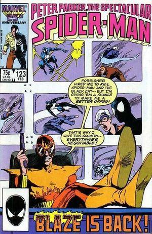 SPECTACULAR SPIDER-MAN (1976 1ST SERIES) #123