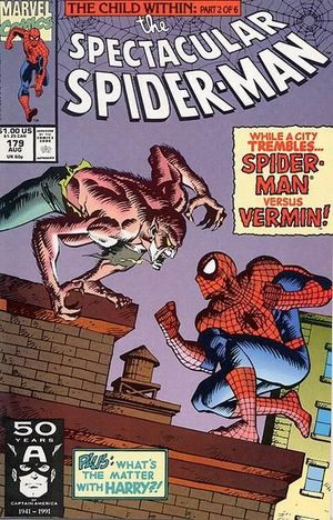 SPECTACULAR SPIDER-MAN (1976 1ST SERIES) #179