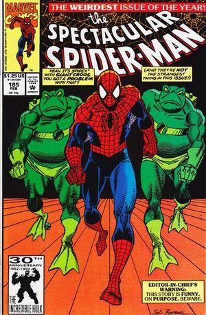 SPECTACULAR SPIDER-MAN (1976 1ST SERIES) #185