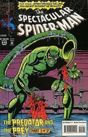 SPECTACULAR SPIDER-MAN (1976 1ST SERIES) #215