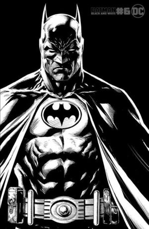 BATMAN BLACK AND WHITE (2020) #6B