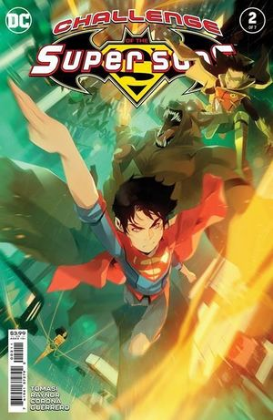 CHALLENGE OF THE SUPER SONS (2021) #2