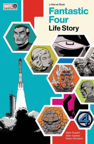 FANTASTIC FOUR LIFE STORY (2021) #1B