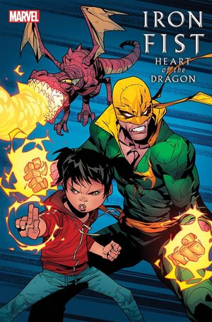 IRON FIST HEART OF DRAGON (2021) #5B