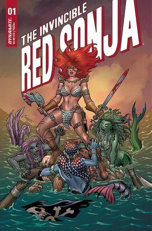 INVINCIBLE RED SONJA (2021) #1
