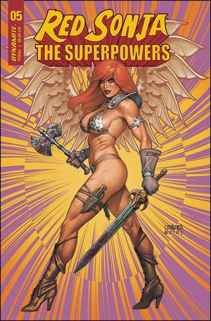 RED SONJA THE SUPERPOWERS (2021) #5C