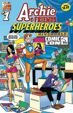 ARCHIE & FRIENDS SUPERHEROES (2021) #1