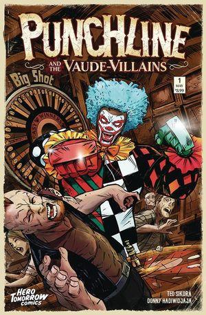 PUNCHLINE AND VAUDE VILLAINS (2021) #1