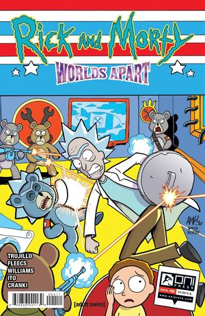 RICK AND MORTY WORLDS APART (2021) #4