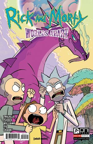 RICK AND MORTY WORLDS APART (2021) #4B