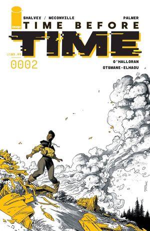 TIME BEFORE TIME #2 CVR A SHALVEY (MR)