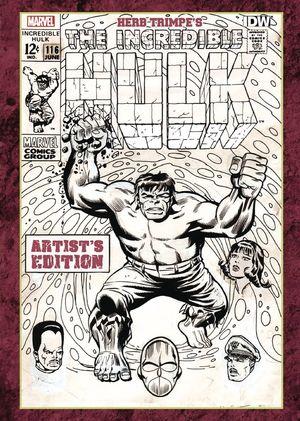 HERB TRIMPE INCREDIBLE HULK ARTIST ED HC (MAY150425)