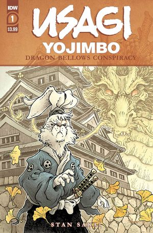 USAGI YOJIMBO DRAGON BELLOW CONSPIRACY #1 (OF 6)