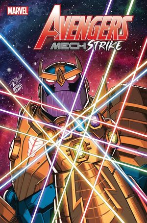 AVENGERS MECH STRIKE #4 (OF 5) RON LIM VAR