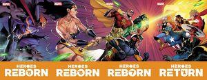 HEROES REBORN #5 (OF 7) BAGLEY CONNECTING TRADING CARD VAR