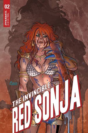 INVINCIBLE RED SONJA #2 CVR A CONNER