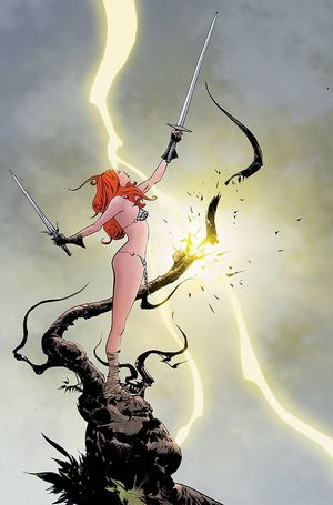RED SONJA #28 LEE LTD VIRGIN CVR