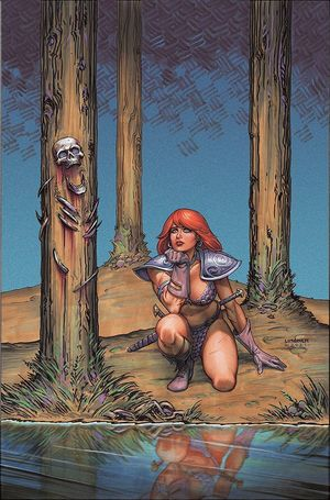 RED SONJA #28 LINSNER LTD VIRGIN CVR