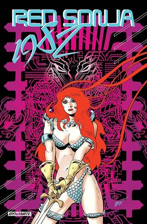 RED SONJA 1982 ONE SHOT CVR B BROXTON