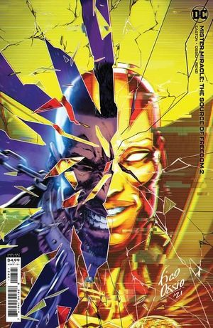 MISTER MIRACLE THE SOURCE OF FREEDOM (2021) #2B