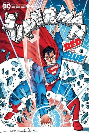 SUPERMAN RED AND BLUE (2021) #4B