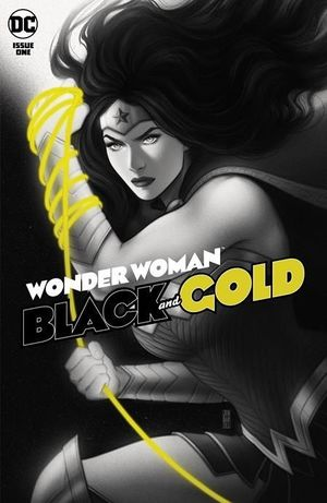 WONDER WOMAN BLACK & GOLD (2021) #1