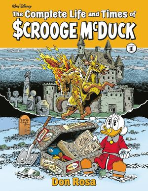 COMPLETE LIFE & TIMES SCROOGE MCDUCK HC VOL 01 ROSA (FEB1917