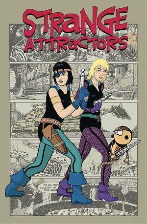STRANGE ATTRACTORS (2021) #3