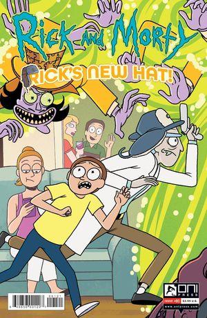 RICK AND MORTY RICKS NEW HAT (2021) #1B