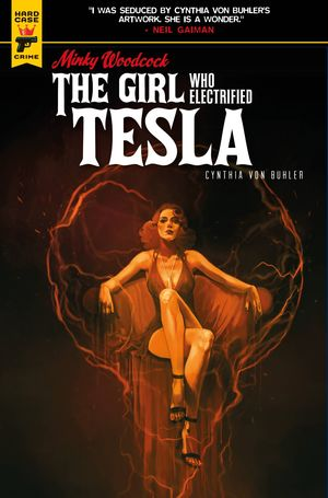 MINKY WOODCOCK GIRL ELECTRIFIED TESLA (2021) #3C