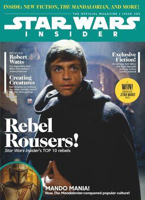 STAR WARS INSIDER #204 NEWS