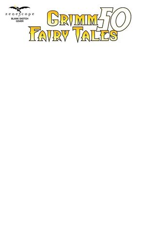 GRIMM FAIRY TALES #50 CVR F BLANK SKETCH VAR