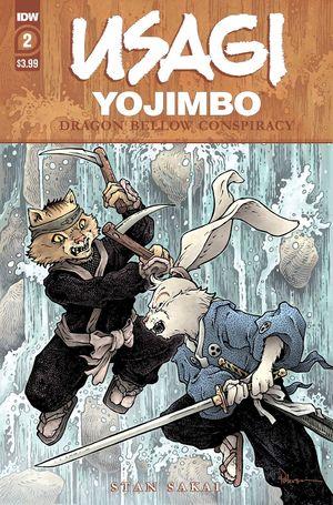 USAGI YOJIMBO DRAGON BELLOW CONSPIRACY (2021) #2