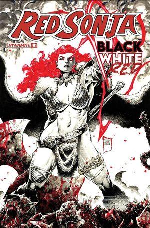 RED SONJA BLACK WHITE RED (2021) #1C