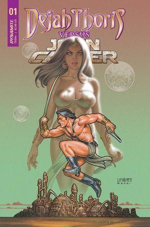 DEJAH THORIS VS JOHN CARTER OF MARS (2021) #1B
