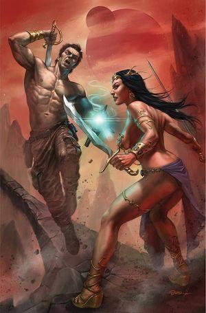 DEJAH THORIS VS JOHN CARTER OF MARS (2021) #1 L
